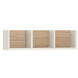 4Kids 70cm Sectioned Wall Shelf - Alidasa