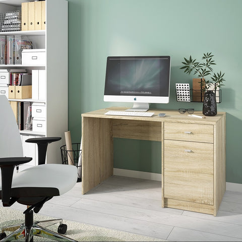 4 You 1 door 1 drawer desk in Sonama Oak - Alidasa