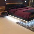 For Monaco 160 cm bed Warm White LED strip - Alidasa