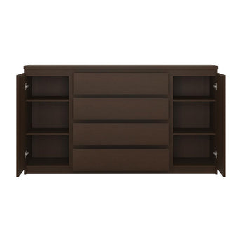 Pello 2 Door 4 Drawer Extra Wide Sideboard - Alidasa
