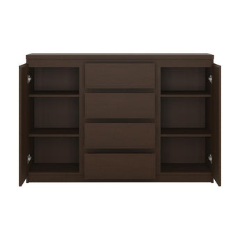Pello 2 Door 4 Drawer Sideboard - Alidasa
