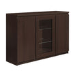 Pello 3 Door Sideboard (Glazed Centre) - Alidasa
