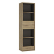 Shetland Tall Narrow 3 Drawer bookcase alidasa.myshopify.com