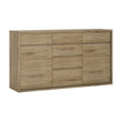 Shetland 2 door 6 drawer chest - Alidasa