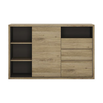 Shetland 1 Door 3 drawer sideboard - Alidasa