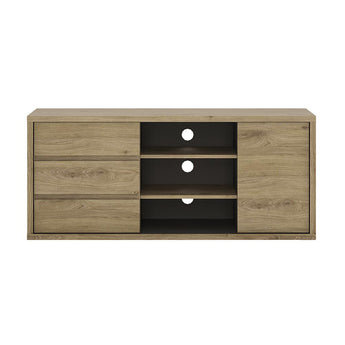 Shetland 1 Door 3 drawer TV cabinet - Alidasa