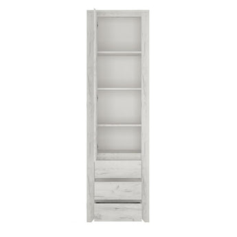 Angel Tall Narrow One Door 3 Drawer Narrow Cupboard alidasa.myshopify.com