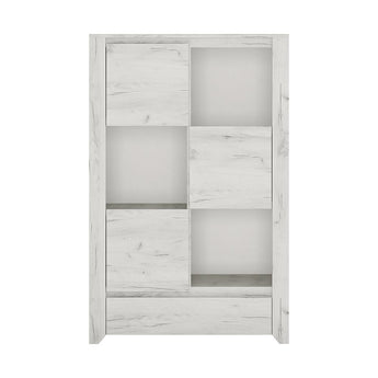 Angel 3 door 1 Drawer Cupboard - Alidasa