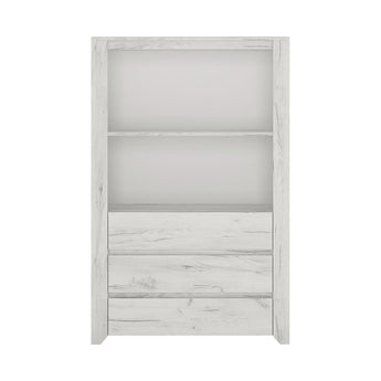 Angel 3 Drawer Cupboard with Open Shelf - Alidasa