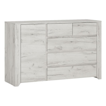 Angel 1 Door 2+3 drawer Chest - Alidasa