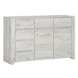 Angel 2 Door 3+3 Drawer Wide Chest - Alidasa