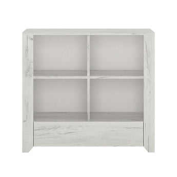 Angel 1 Drawer Low Bookcase - Alidasa