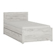 Angel Single Bed with underbed Drawer (Inc Slats) - Alidasa