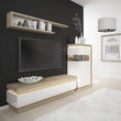 Lyon 2 drawer TV cabinet (including LED lighting) - Alidasa