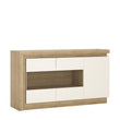 Lyon 3 door glazed sideboard (including LED lighting) - Alidasa