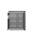 Lyon 2 door designer cabinet (LH) (including LED lighting) - Alidasa