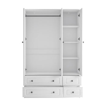 Hampshire 3 door 4 drawer robe - Alidasa