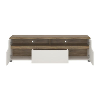 Toledo 2 door 1 drawer wide TV unit - Alidasa
