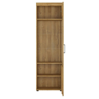 Cortina Tall glazed display cabinet (RH) alidasa.myshopify.com