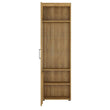 Cortina Tall glazed display cabinet (LH) - Alidasa