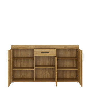 Cortina 3 door 1 drawer sideboard - Alidasa