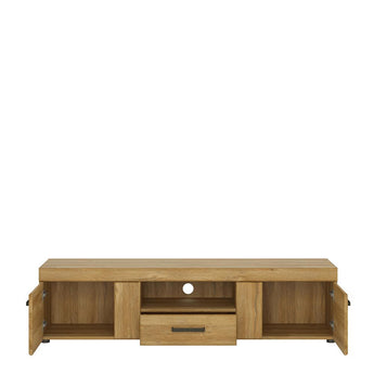 Cortina 2 door 1 drawer wide TV cabinet alidasa.myshopify.com