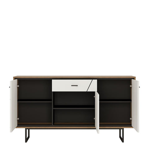 Brolo 3 door 1 drawer sideboard - Alidasa