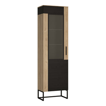 Cordoba Display Cabinet - Tall & Narrow - Alidasa