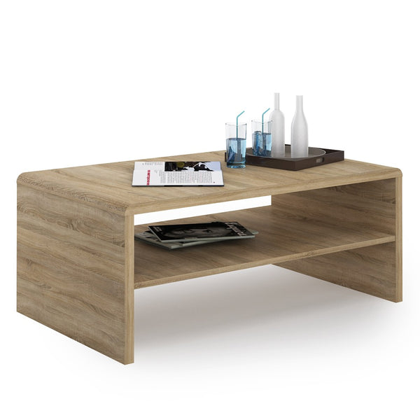 4 You Coffee Table In Sonama Oak - Alidasa