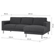 Cleveland Chaiselongue Sofa (RH) - Alidasa