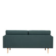 Larvik  Larvik 2.5 Seater Sofa - Dark Green, Oak Legs - Alidasa