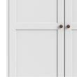 Paris Wardrobe with 3 Doors in White - Alidasa