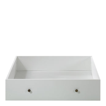 Paris Underbed Storage Drawer for Single Bed in White alidasa.myshopify.com