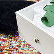 Paris Underbed Storage Drawer for Single Bed in White - Alidasa