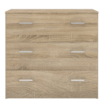 Space Chest of 3 Drawers in Oak alidasa.myshopify.com