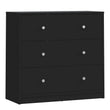 May Chest of 3 Drawers in Black alidasa.myshopify.com