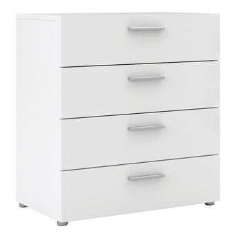 Pepe Chest of 4 Drawers in White alidasa.myshopify.com