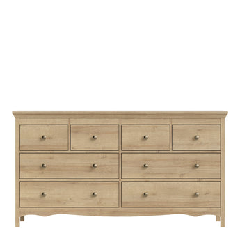 Silkeborg Chest of 8 Drawers (4+2+2) in Riviera Oak - Alidasa