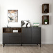 Roomers Wall Shelf Unit in Walnut - Alidasa