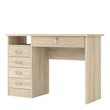 Function Plus Desk 5 Drawers in Oak alidasa.myshopify.com