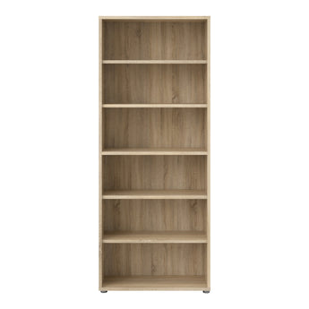 Prima Bookcase 5 Shelves in Oak alidasa.myshopify.com