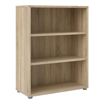 Prima Bookcase 2 Shelves in Oak alidasa.myshopify.com