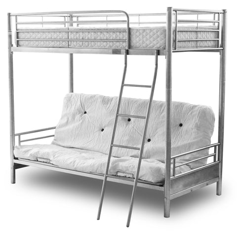 Alaska Futon Bunk Top Single, Bottom opens to Double - Alidasa