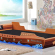 Caribbean Pirate Ship Bed, Single - Alidasa