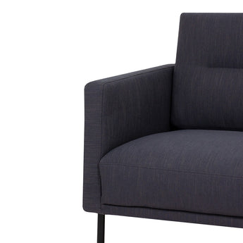 Larvik 2.5 Seater Sofa  Antracit Black - Alidasa