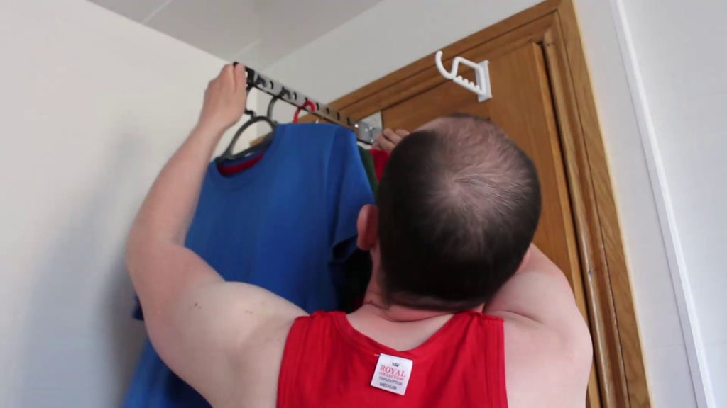 Door clothing hanger review by No Formal Training (2 years ago)