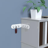 Multifunctional Corner Kitchen Strong Seamless Wall Hooks Sucker Hook Bathroom Wall Hook Door Hook
