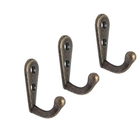 10Pcs Vintage Antique Wall Door Hooks For Clothes Coat Hat Bag Towel Bath Hanger