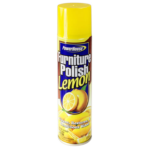 Lemon Furniture Polish - 12cs -10oz