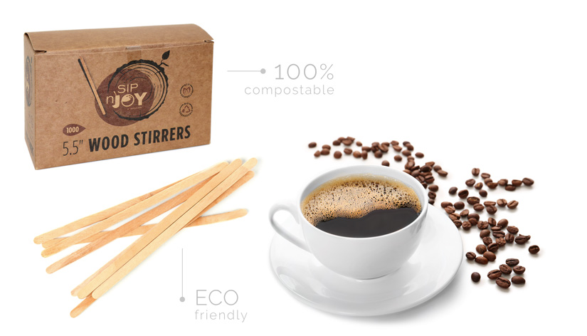 Wood Stirrers - 5.5